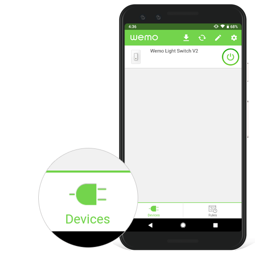 Belkin Official Support Meet the Wemo App for Android™