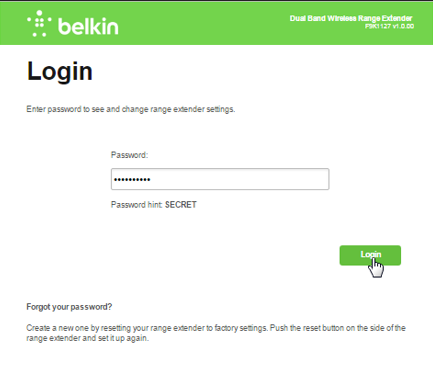 Belkin Official Support Disabling the